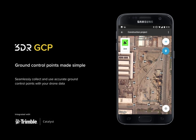 Drones Set the Stage for Low-Cost, Precise Construction with 3DR App
