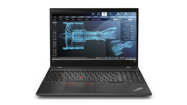The Lenovo ThinkPad P52s. (Image courtesy of Lenovo.)