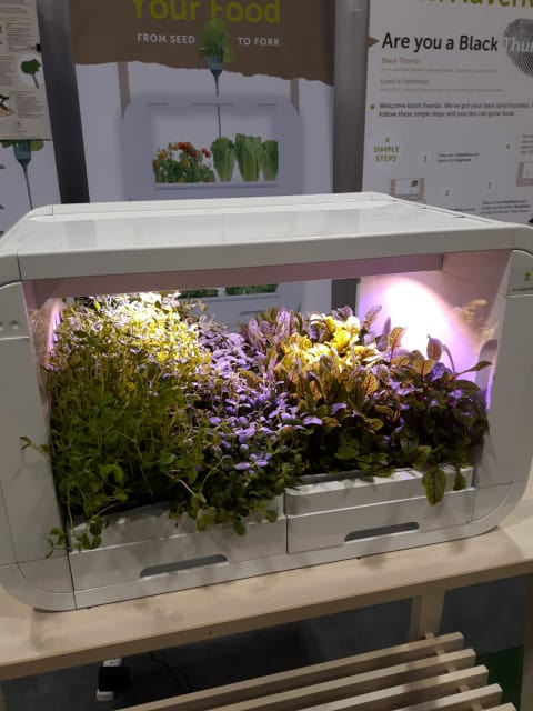 Modgarden's Tinyfarm is one of the many tech tools at OCE Discovery 2018 that is finding a home in the classroom. (Image courtesy of Emily Pollock.)