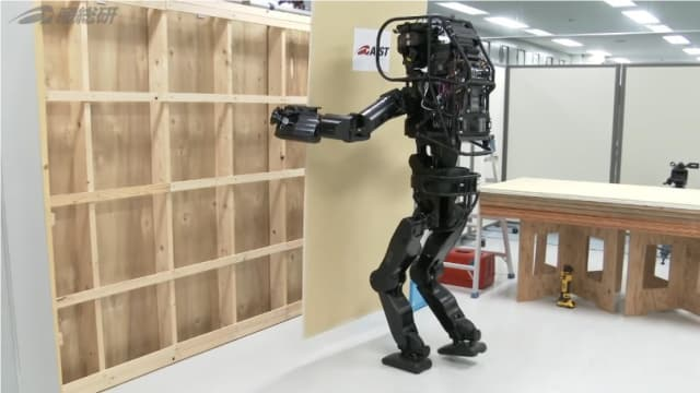 The HRP-5P Humanoid Robot is one of the mobile robots gaining a foothold in the construction industry. While these robots are becoming more popular, the safety standards haven't caught up to the reality on-the-ground. (Image courtesy of National Institute of Advanced Industrial Science and Technology.)