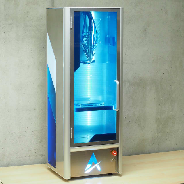 The μPrinter desktop DED 3D printer from ADDiTEC. (Image courtesy of ADDiTEC.)