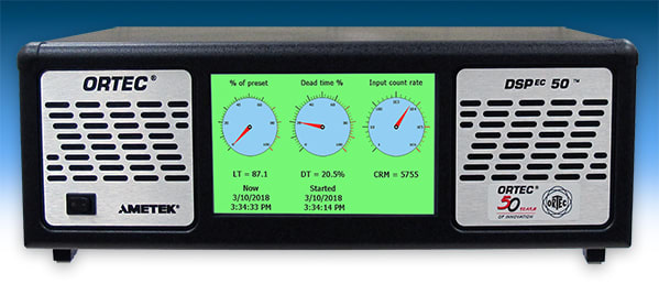 ORTEC DSPEC-50A spectrometer. (Image courtesy of AMETEK.)