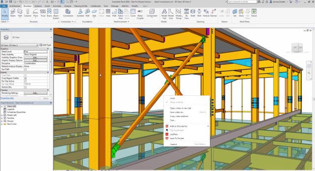 Revit 2018 Adds New Features for MEP and Structural