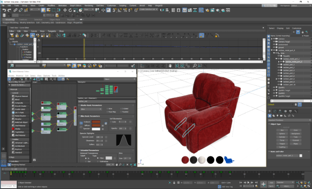 Autodesk 3ds Max asset file for a Verge3D web application. (Image courtesy of Soft8Soft.)