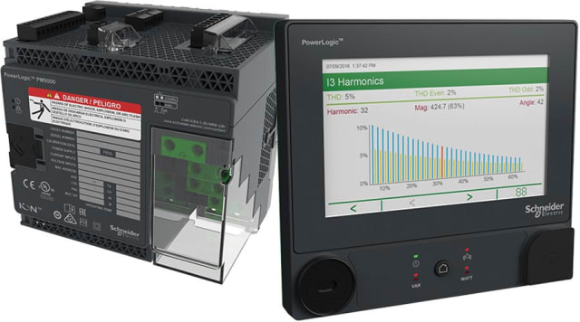 The ION9000T power meter. (Image courtesy of Schneider Electric.)