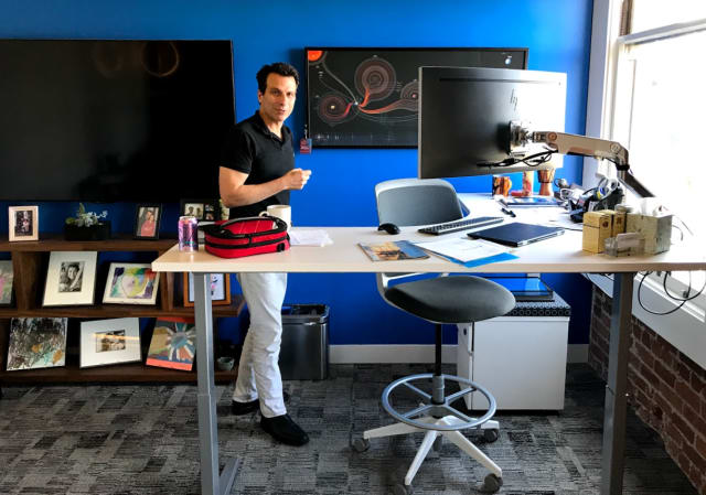 "Andrew Anagnost, with a PhD in aero and astrospace engineering from Stanford, loves the infographic of every mission in the solar system. ""You can see there's been 73 missions to the moon and the many missions to the sun, Venus, Mars..."" We literally have a rocket scientist as a CEO, say Autodeskers proudly. In the freewheeling and candid interview that follows, the brave captain talks of guiding Autodesk where no software company has gone before, merging AEC and manufacturing, how only Autodesk can do it and the competition cannot."