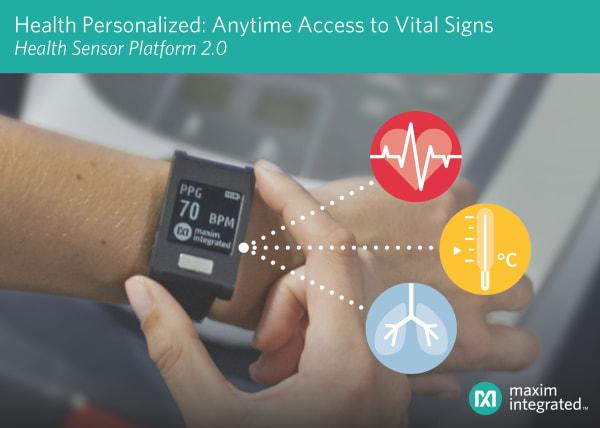 Health Sensor Platform 2.0. (Image courtesy of Maxim.)