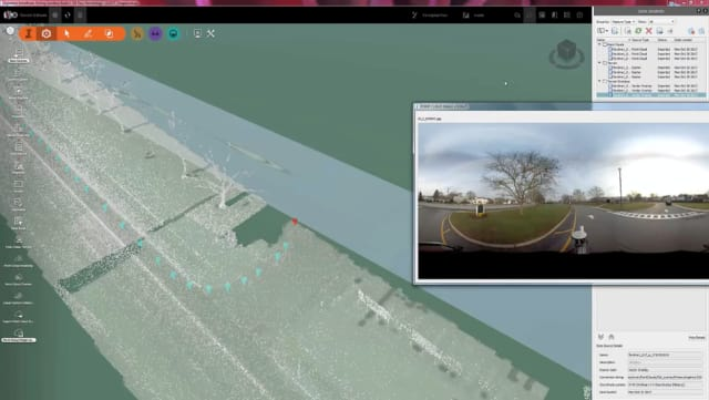 Images can be taken from point cloud scans via a Point Cloud Image Lookup tool. (Image courtesy of Autodesk.)