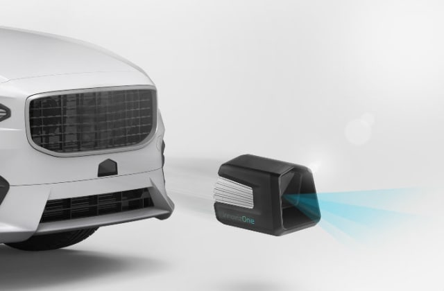 Solid-state LiDAR scanners avoid the problems that plague mechanical systems. (Image courtesy of Innoviz Technologies.)