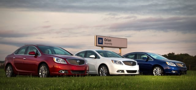 GM is investing $300 million in its Orion, Mich., plant for the production of a new electric vehicle. (Image courtesy of GM.)