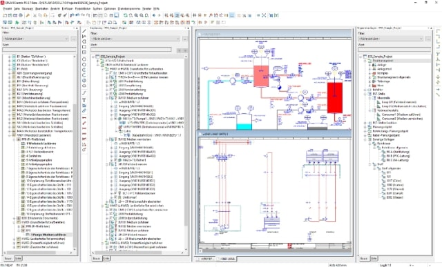 The new piping module in EPLAN Preplanning v2.7. (Image courtesy of EPLAN.)