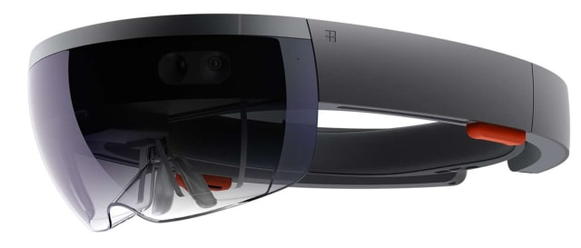 Microsoft HoloLens. (Image courtesy of Microsoft.)
