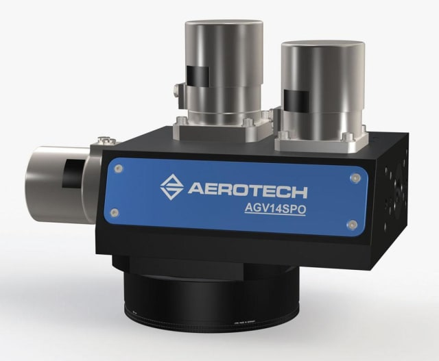 AGV14SPO scanner. (Image courtesy of Aerotech.)
