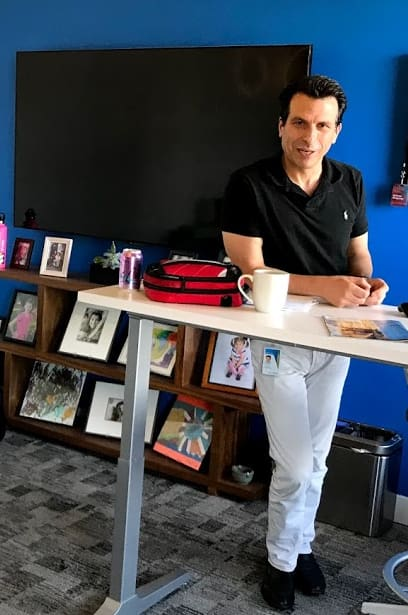 Is the C for Change? CEO of Autodesk Andrew Anagnost talks of the changing the world by putting the most modern software in the hands of engineers, architects and builders.