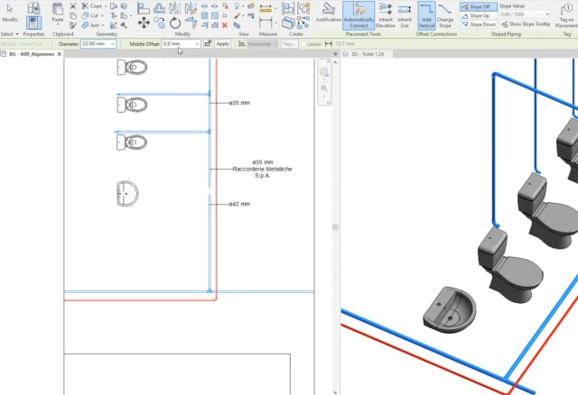 MEPcontent Plugin Makes Revit Pipework Easier > ENGINEERING com
