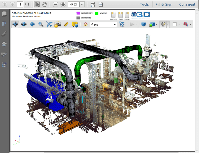 1 Click 3d Pdf Conversion For Software Developers Engineering Com