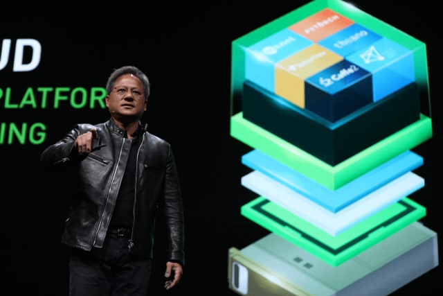 The company's second quarter reports indicate that NVIDIA is now 2.5 times as valuable as it was at this time last year. (Image courtesy of NVIDIA.)
