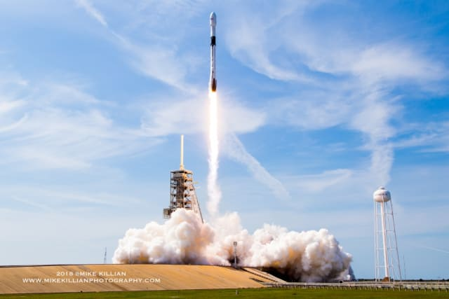 Liftoff for the Block 5 (Image courtesy of MikeKillianPhotography.com.)