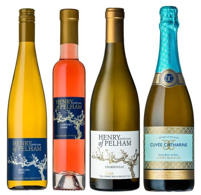 A selection of wines soon to benefit from the Internet of Things. (Image courtesy of Henry of Pelham.)
