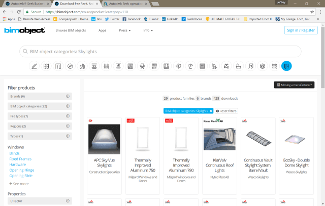 Bimobject Search Results For Skylights Image Courtesy Of