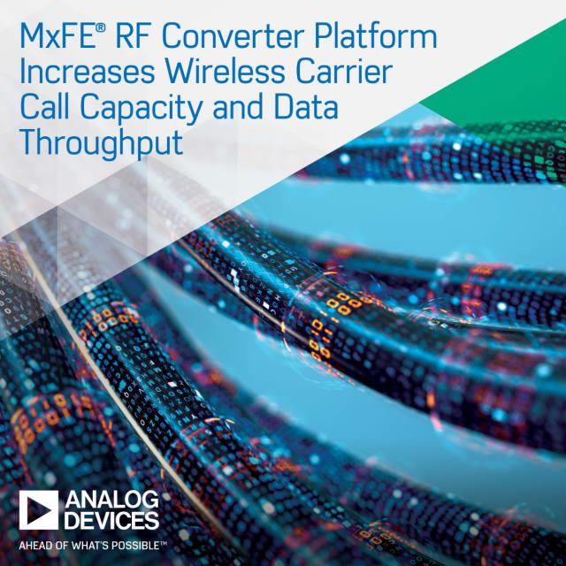 MxFE RF converter platform. (Image courtesy of Analog Devices.)