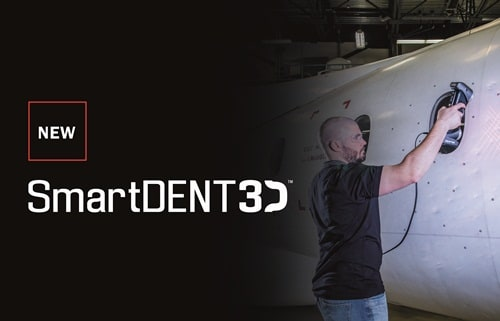 The key difference between typical MRO software and SmartDENT 3D is the way it closes the loop between data acquisition and the production of reports. (Image courtesy of Creaform.)