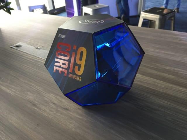 Intel's new 9thGen Core i9-9900k. (Image courtesy of Intel.)