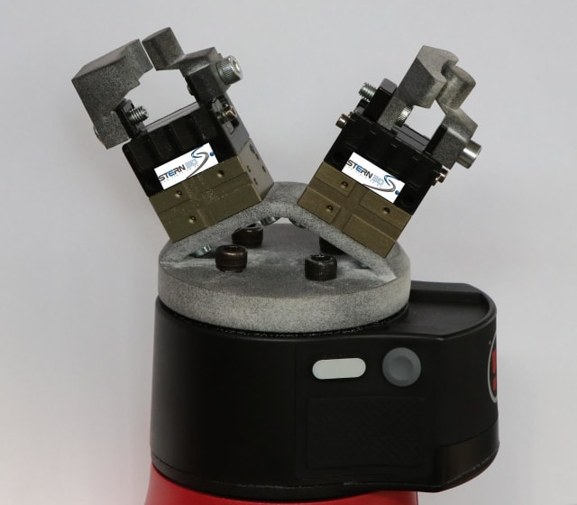 A robotic gripper 3D printed by Stern 3D, which has 10 MJF 3D printers. (Image courtesy of HP.)