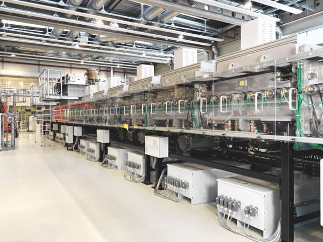 A look inside the Manz AG manufacturing facility. (Image courtesy of Manz AG)
