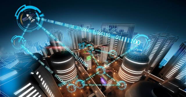 In the move towards smart cities, the setting of standards for how sensors communicate with one another is vital to accessing IoT's true potential. (Image courtesy of JCT 600 under CC0)