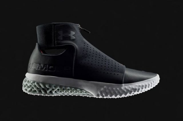 fe945834d The UA Futurist is Under Armour's most recent shoe design featuring  3D-printed midsoles.