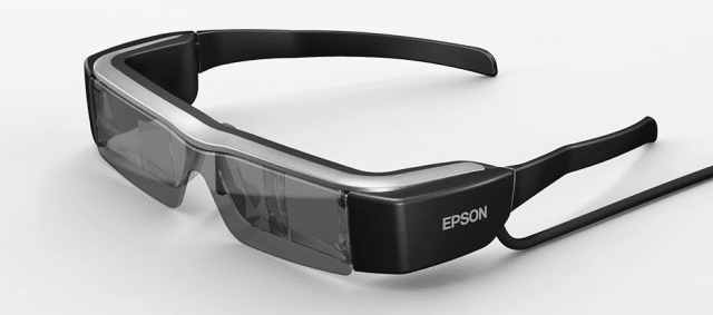 The goal of the product development team was to improve the headset's ergonomic design and comfort, as well as upgrade the technology to a highly agreeable form factor. (Image courtesy of Epson.)