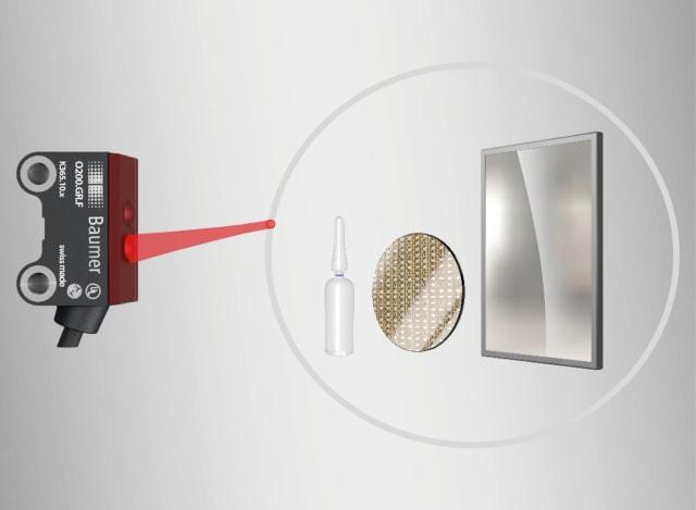 O200 photoelectric miniature sensors. (Image courtesy of Baumer.)