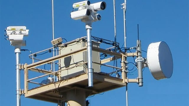Sensor towers placed along the U.S. border with Mexico are only one part of a new