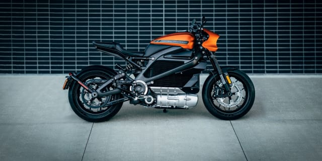 The Livewire, set to hit the market next year. (Image courtesy of Harley-Davidson.)