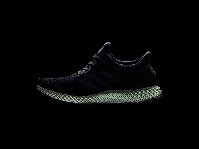 The Futurecraft 4D shoe, which features a 3D-printed midsole made using Carbon technology. (Image courtesy of adidas.)