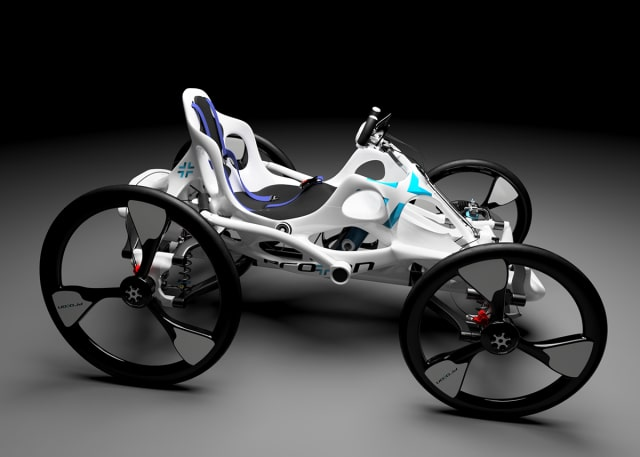 In the Elevated Mobility Concept Design Challenge on Launch Forth, participants were asked to create a device for new sports or activities designed for all abilities. (Image courtesy of LM Industries.)
