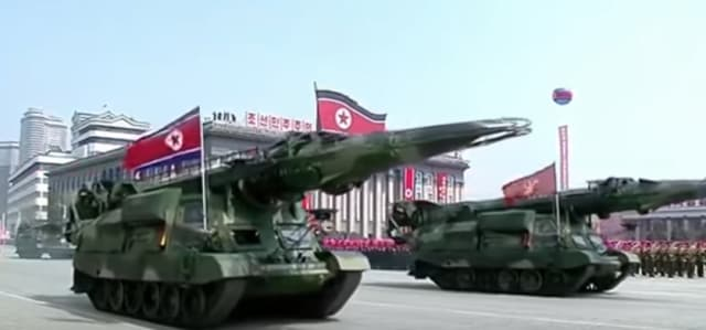 The KN-17 missile was widely reported to have been displayed by the country in a military parade on April 16th, 2017. (Image courtesy of csis.org)