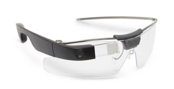Google Glass is a hands-free device for hands-on workers.