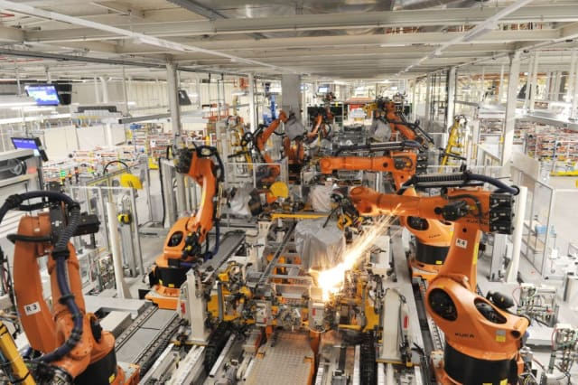 When most people think about industrial robots, they think about automotive assembly. However, robots do almost everything now.