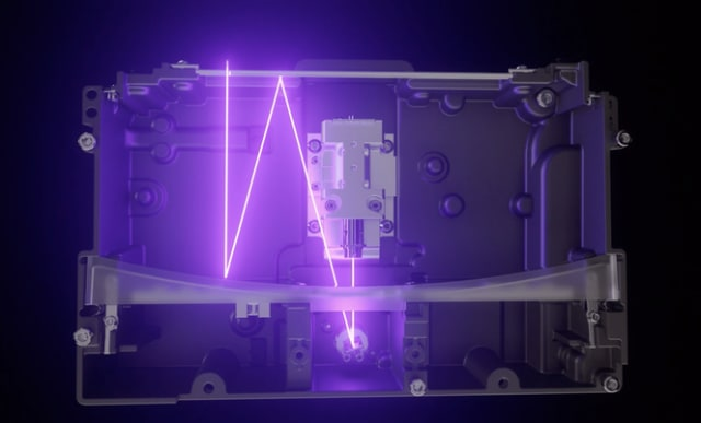A depiction of the light processing unit within the Form 3 and Form 3L. (Image courtesy of Formlabs.)