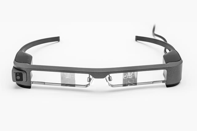 New, improved Moverio BT-300 Smart Glasses from Epson with a big assist from Proto Labs' quick-turn, CNC machined, rapid prototyping services. (Image courtesy of Epson.)