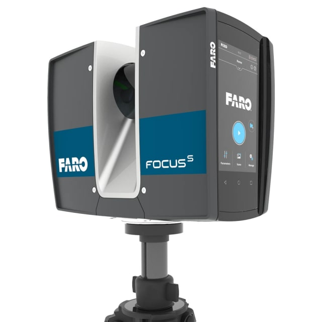 Focus 3D laser scanner. (Image courtesy of FARO.)