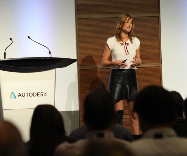 Denise Schindler, keynote speaker at Accelerate 2018 in Toronto.