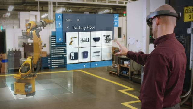 The auto industry is the best-represented—though by no means the only—sector among HoloLens' adherents. (Image courtesy of Microsoft.)