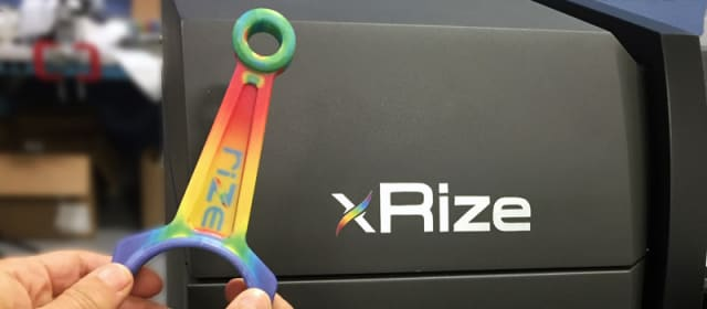 A full-color print made by the XRize 3D printer from Rize. (Image courtesy of Rize.)