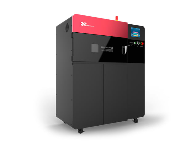 XYZprinting attempts to tackle the low end of the industrial SLS market with a smaller, lower priced machine. (Image courtesy of XYZprinting.)