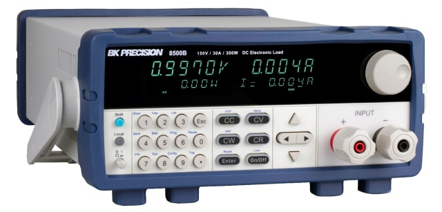 8500B DC Electronic Load. (Image courtesy of B&K Precision.)