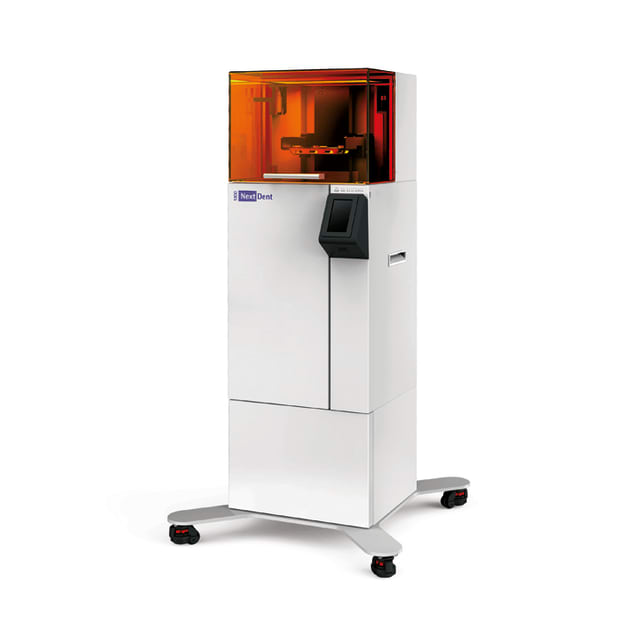 The NextDent 5100 is the first industry-specific instantiation of Figure 4 technology. (Image courtesy of 3D Systems.)