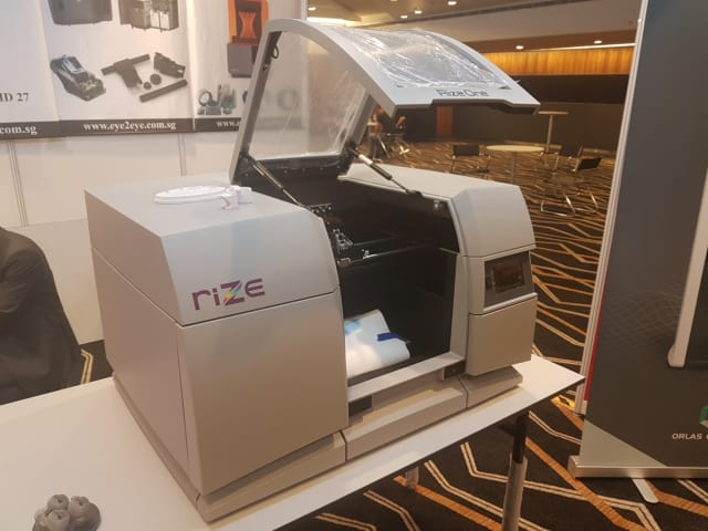 Figure 2. The RIZE 3D printer.(Image courtesy of the author.)